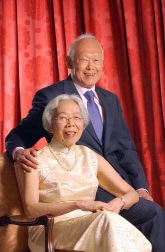 Singapore - Mr & Mrs Lee Kuan Yew