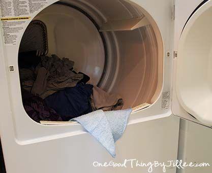 homemade dryer sheets - a better way