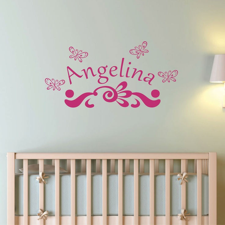 Best Monogram Wall Decals Images On Pinterest Monogram Wall - Monogram wall decal for nursery