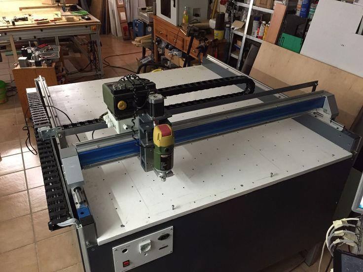 3D CNC Fräsmaschine 1200 x 1100 mit Steuerung und Vakuumtisch   eBay