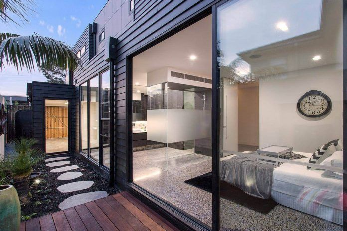 Bold square shapes on the exterior and contemporary interior design define this Black Rock residence - CAANdesign | Architecture and home design blog