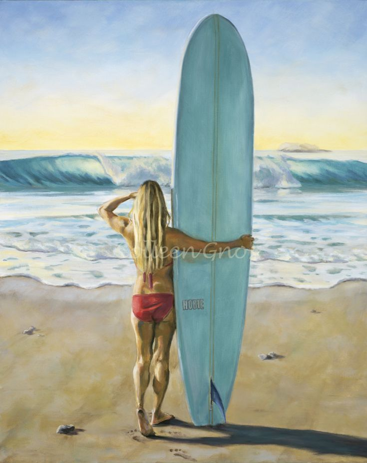 Best Beach Art Images On Pinterest Holiday I Will And Water - Artist paints incredible seaside murals balanced on surfboard
