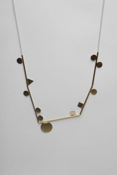 samma!  shapely necklaceGeometry Necklaces, Motivation Determination, Shape Necklaces, Totokaelo, Style, Samma Necklaces, Samma Shape, Determination Strength, Necklaces Brass