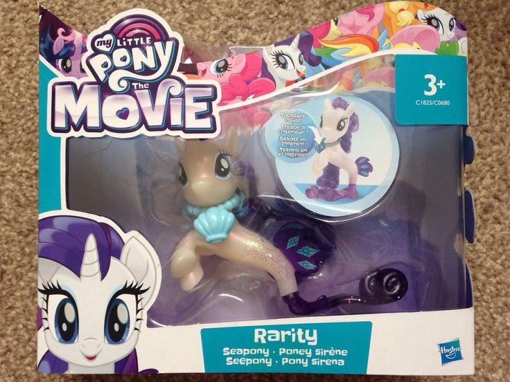 My Little Pony The Movie Mermaid Seapony Rarity