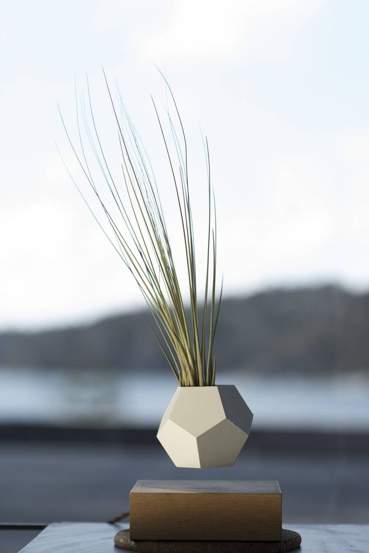 Stunning Flying Geometrical Planters LYFE by Simon Morris