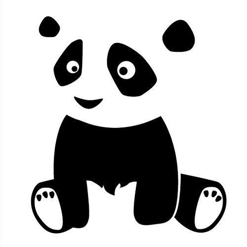 Wandtattoo Wandtattoo Panda Zsasa