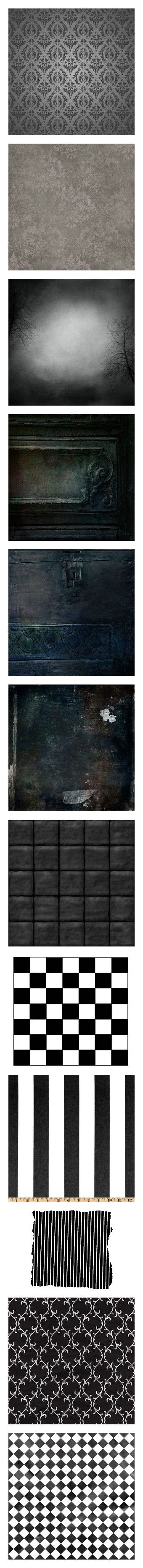 """""""~ backgrounds (1) ~"""" by elsakurppa ❤ liked on Polyvore featuring backgrounds, filler, wallpaper, detail, embellishment, halloween, textures, grunge texture, paper and black"""