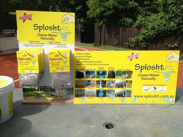 Splosht cleans algae