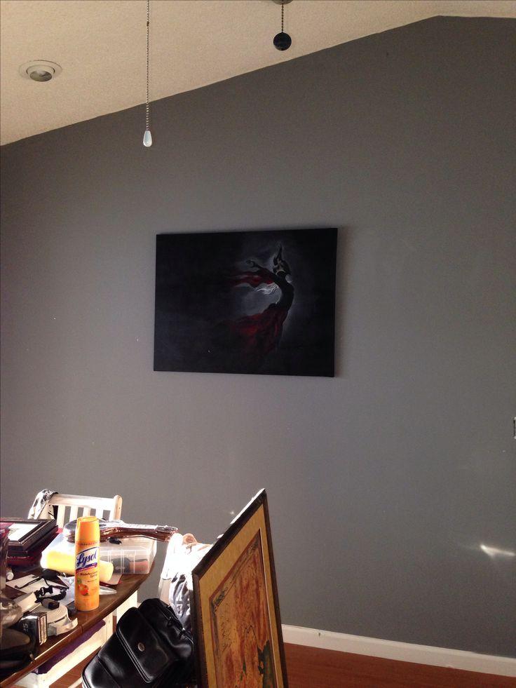 Dark gray- #grayarea Behr #770f-4 Gray Area by Behr paint color