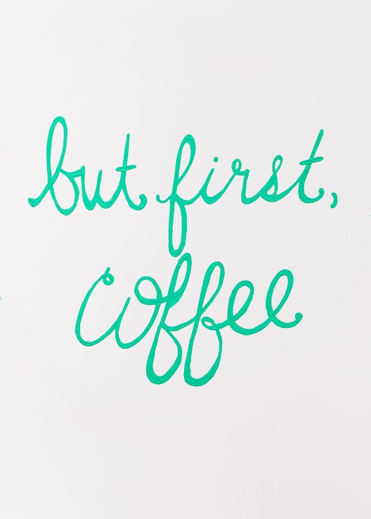 Coffee first, always. #illycoffee