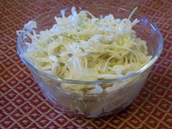 Quick Cabbage Coleslaw
