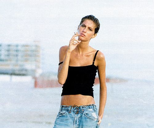 #gisele #denim #90's