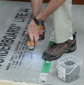 Preparing Your Subfloor for Ceramic and Porcelain Floor Tile Installation at The Home Depot