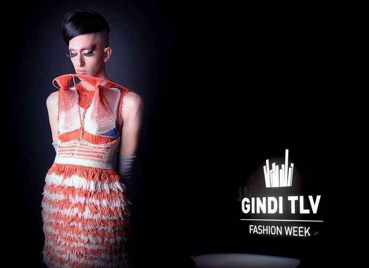 A fashion house model