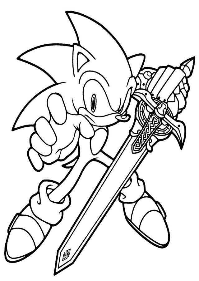 Dibujos De Sonic Para Colorear Con Imagenes Sonic Para
