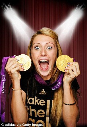 Laura Trott on her amazing Olympics: Beckham bought me a sandwich and Prince Harry invited me to the beach volleyball!  www.findaballer.com