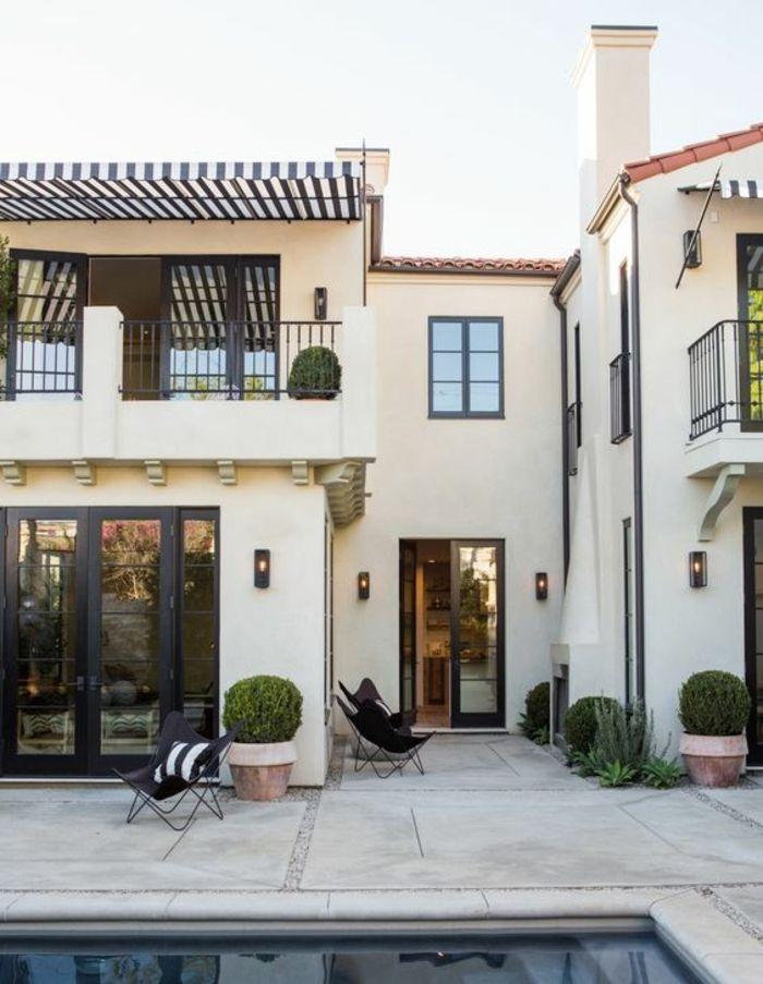 les 25 meilleures id es de la cat gorie maisons de style espagnol sur pinterest maisons style. Black Bedroom Furniture Sets. Home Design Ideas