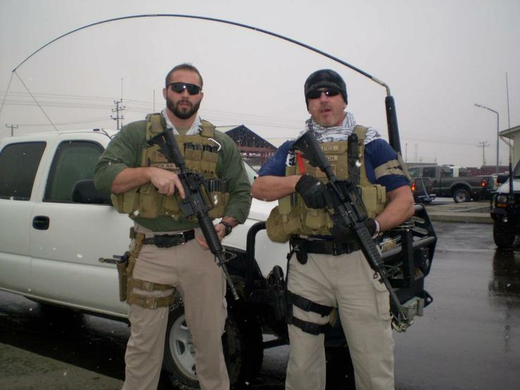 Private Military Contractors. PMC. Boys with their toys