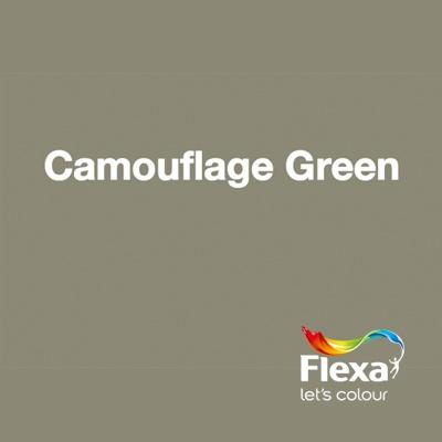 Collectie: Creations Kleur: Camouflage Green URL: http://www.flexa.nl/nl/kleur/camouflage-green