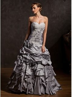 Special Occasion Dresses - $265.99 - Ball-Gown Sweetheart Floor-Length Taffeta Quinceanera Dress With Ruffle Lace Flower(s)  http://www.dressfirst.com/Ball-Gown-Sweetheart-Floor-Length-Taffeta-Quinceanera-Dress-With-Ruffle-Lace-Flower-S-021015143-g15143