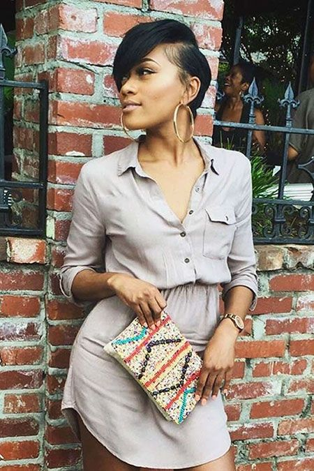 28 short hairstyles for black women 2019