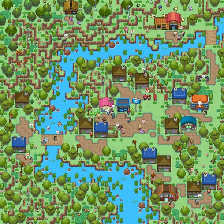 Die Siegermap des letzten MappingWettbewerbs Pixel art