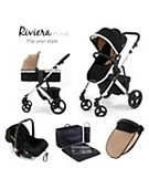 Tutti Bambini Riviera Plus 3-in-1 Silver Travel System - they do in grey £228 (sale)