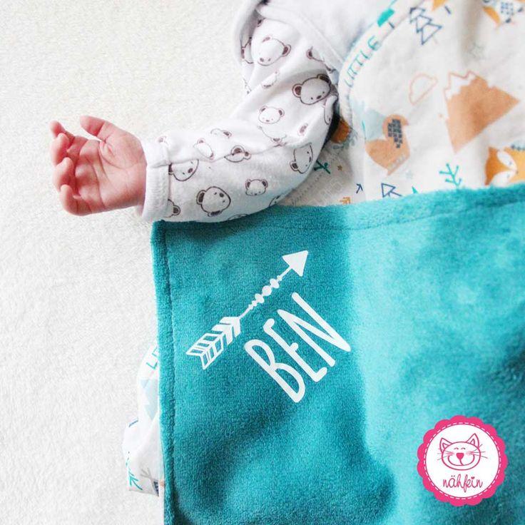 Babydecken mit Namen - nähfein #babydecken #flauschig #kuscheln #genießen #decke #handmade #mitnamen #personalisiert #babylove