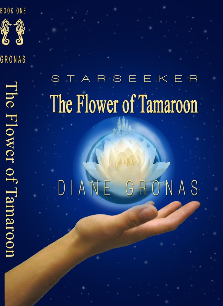Soon to be released YA Fiction - STARSEEKER The Flower of Tamaroon by Diane Gronas - TEST COVER