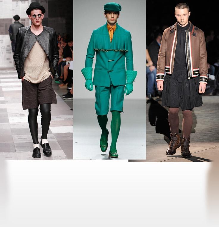 :))  Trend Leggings in der Männer-Mode - mal schauen, ob es sich durchsetzt!