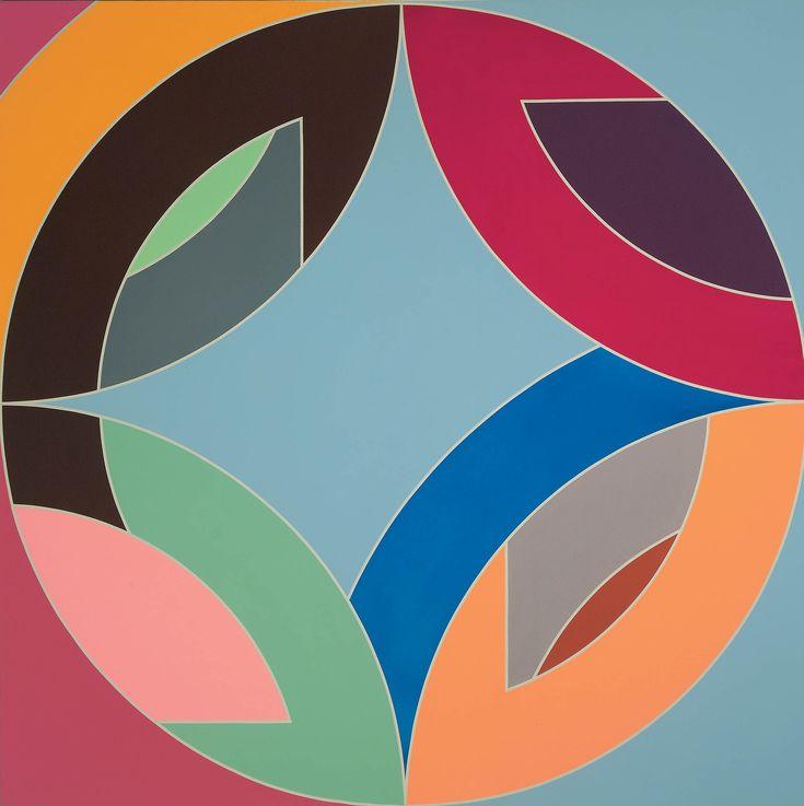 Les 42 meilleures images du tableau frank stella sur for Frank stella peinture