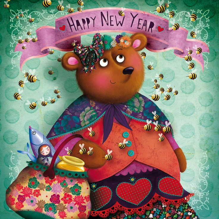 New yearHappy Years, Art Mary, Diciembre 2011, Nuevo Años, Años Comienza, Carts Voeux, Bienvenido Años, Art Illustration, New Years