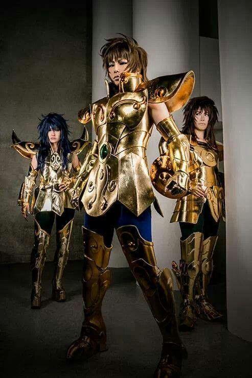 Saint seiya cosplay