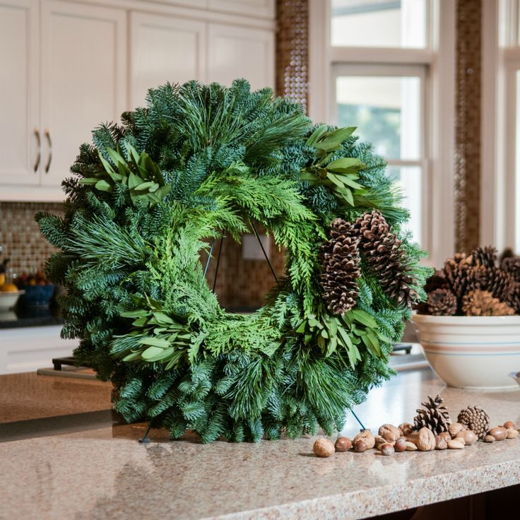 30 unique and modern christmas wreaths decoration ideas