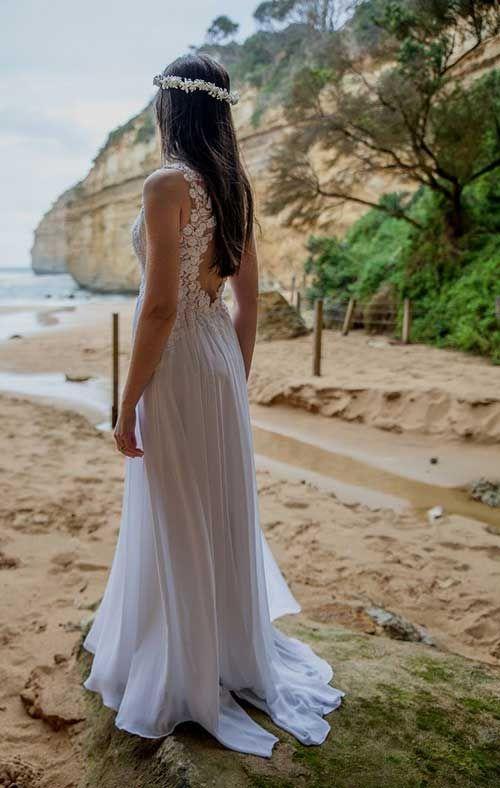 O Vestido de Noiva para Casamento na Praia PERFEITO!