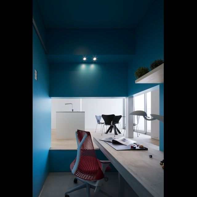 coreさんの、部屋全体,セイルチェア,書斎コーナー,書斎,のお部屋写真