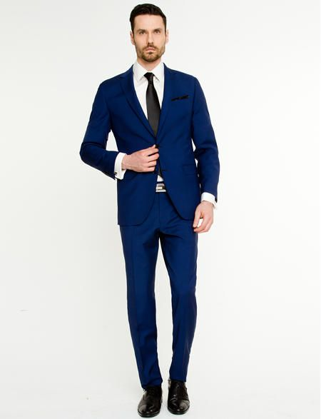 124 best Blue Suits images on Pinterest | Menswear, Blue suits and ...