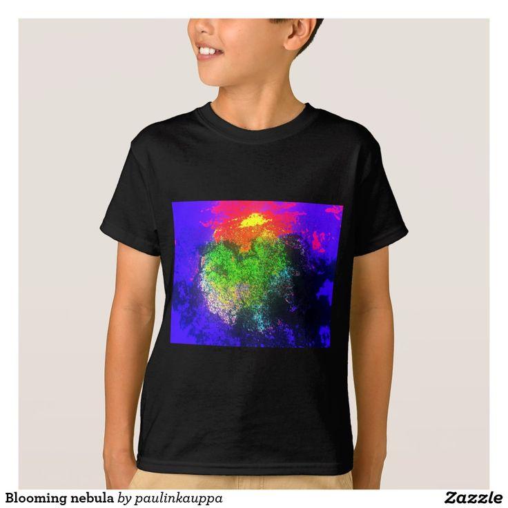 Blooming nebula Kids' shirt