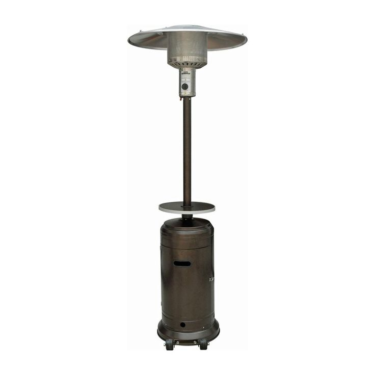 AZ  Patio 41000-BTU Hammered Bronze Steel Floorstanding Liquid Propane Patio Heater $147