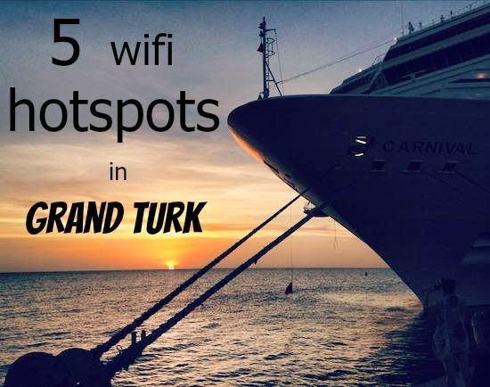 To make sure you stay connected on your cruise we've found five wifi hotspots in Grand Turk.