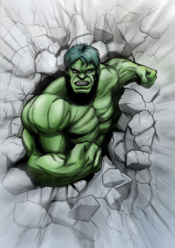 #Hulk #Fan #Art. (Incredible Hulk) By: JarOfComics.