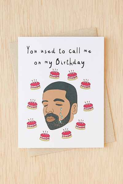 Diamond Donatello Drake Used To Call Birthday Card