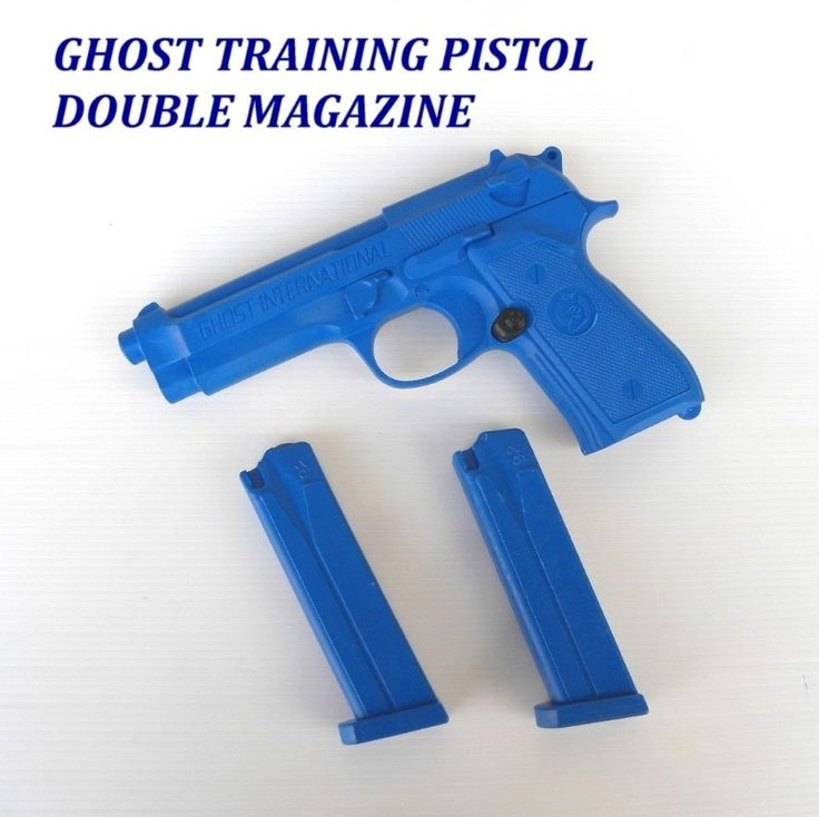 GHOST Beretta 92/98 Training Gun blu con 2 caricatori