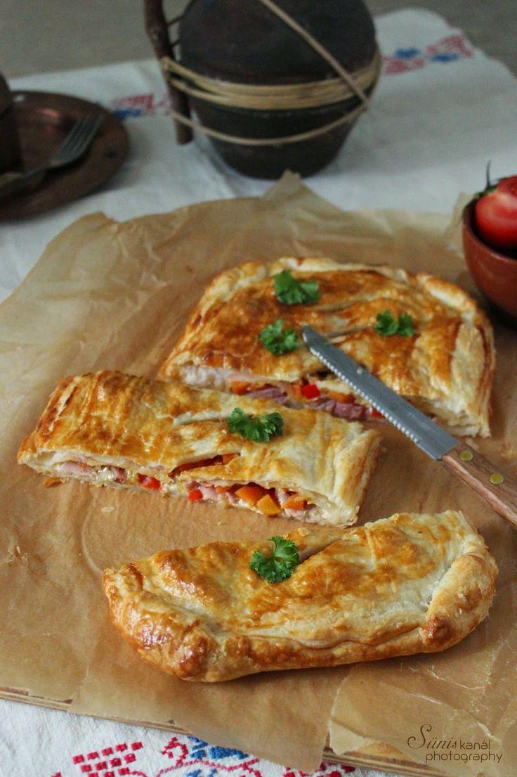Sünis kanál: Sonkás-zöldséges leveles pite
