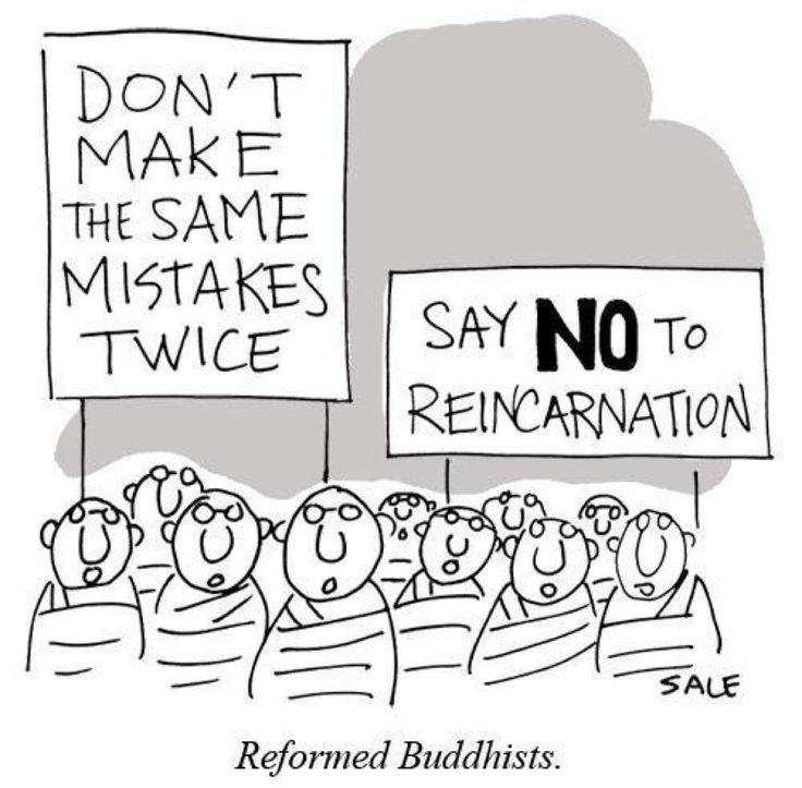 live your life with compassion...: say no to reincarnation...