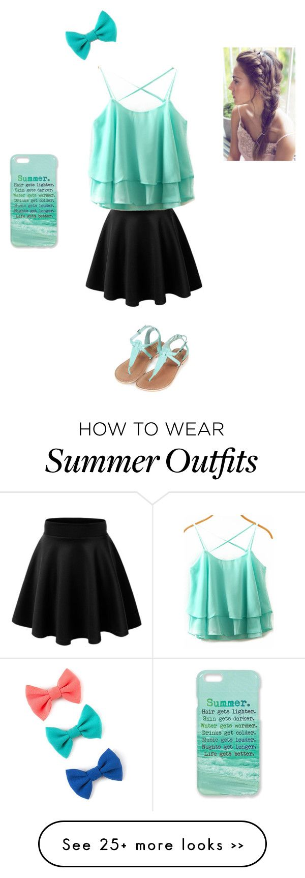 """Girly Summer Outfit 