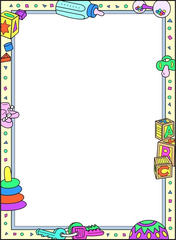 free clip art borders baby theme - photo #4