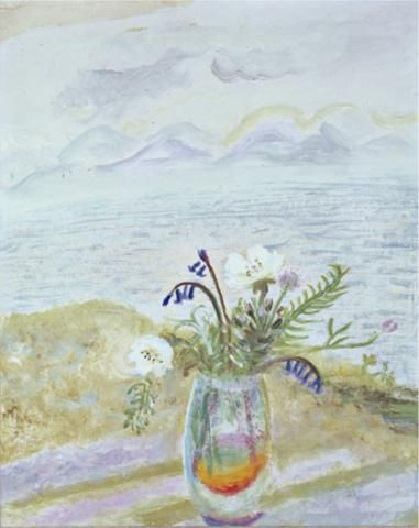 Hebridean Roses   Winifred Nicholson