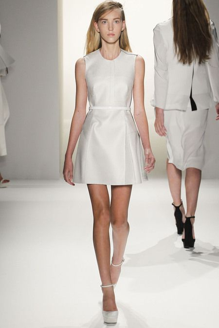 Simplicity in dress form...