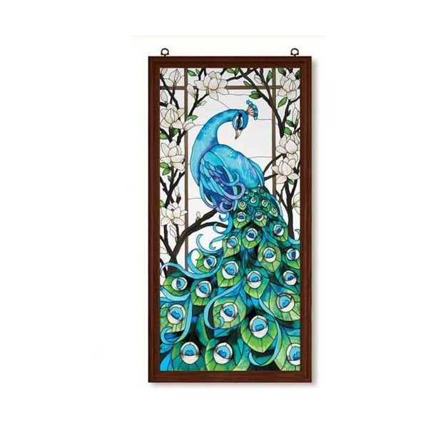 Peacock Design Wall Art : Peacock wall and door decor home proud